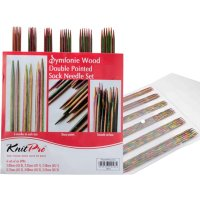 double pointed needles set symfonie-wood
