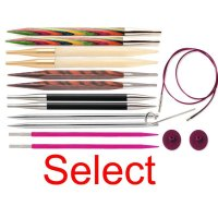 Knit Pro round knit needles from...