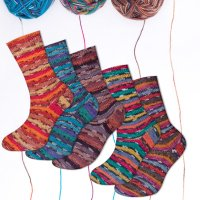 Rellana Flotte Socke Magic 4-fach
