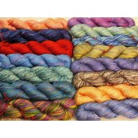 Mulberry silk AngelSilk Maharaja Lace yarn