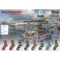 Austermann Step Irish Rainbow 3 4-fädig 100g