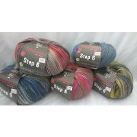 Austermann Step6 Scotland Color 6-fach 150g
