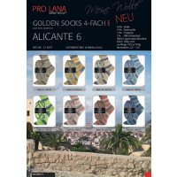 Pro Lana Golden Socks Alicante 6 4-fädig 100g