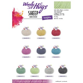 Woolly Hugs SHEEP color 50g