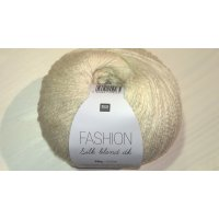 Rico Fashion Silk Blend DK 50g Fb.01 creme