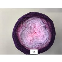 Woolly Hugs BOBBEL COTTON 200g Fb.12 lila-flieder-rose