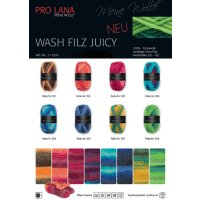 Pro Lana Wash-Filz Juicy 50g