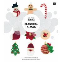 Rico Handarbeitsheft Bubble Classical X-MAS 96676