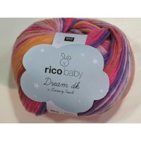 Rico Baby Dream Lux Touch 50g Fb.008 lila-pink