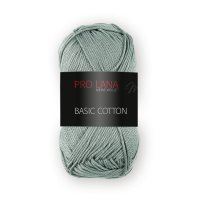 Pro Lana Basic Cotton uni 50g Fb.73 moos-grün