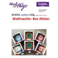 Woolly Hugs BOBBEL COTTON Weihnachtsaktion Box