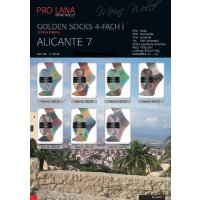 Pro Lana Golden Socks Alicante 7 4-fädig 100g