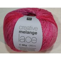 Rico Creative Melange Lace 50g Fb.07 lila-pink