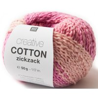 Rico Creative Cotton Zickzack 50g