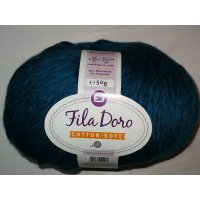 Fila Doro Cotton-Soft 50g Fb.19 stahlblau