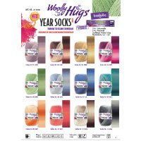 Woolly Hugs Year Socks 4-fach 100g
