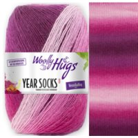 Woolly Hugs Year Socks 4-fach 100g Fb.04