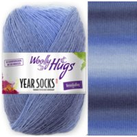 Woolly Hugs Year Socks 4-fach 100g Fb.07