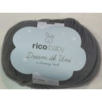Rico Baby Dream dk Uni Lux Touch 50g Fb.06 anthrazit