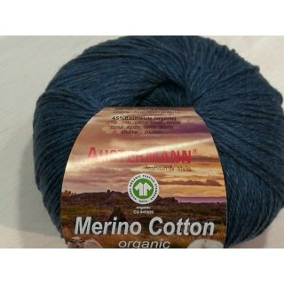 Austermann Merino Cotton Organic 50g Fb.04 blau
