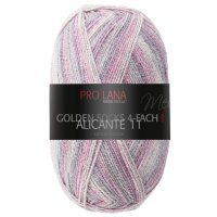 Pro Lana Golden Socks Alicante 11 4-fädig 100g Fb.927...