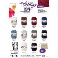 Woolly Hugs Rope fein 200g