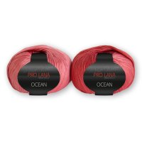 Pro Lana OCEAN Color 50g Fb.37 altrose-rose